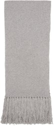 Marc Jacobs Grey Cashmere Scarf