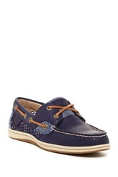 Sperry Koi Fish Core Navy Boat Shoe Blue