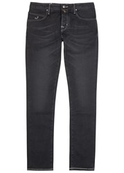 Jacob Cohen Black Slim Leg Jeans