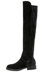 Jeannot Overtheknee Boots Black
