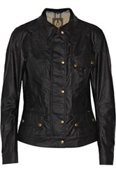Belstaff Colby Waxed Cotton Jacket Black