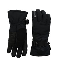 Spyder Synthesis Ski Glove Black Black Anti Plaid Ski Gloves