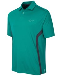 Greg Norman For Tasso Elba Men's Rapichill Performance Golf Polo Teal