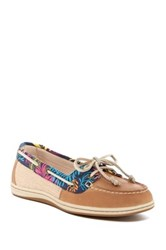 Sperry Firefish Seaweed Boat Shoe White