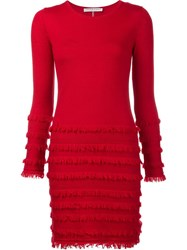 Trina Turk 'Sass' Knitted Dress Red