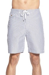 Men's Tailor Vintage Seersucker Swim Trunks