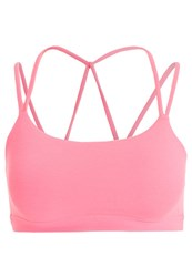 Gap Sports Bra Neon Blazing Pink