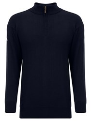 Callaway Merino Mix Windstopper Jumper Navy