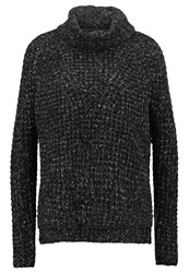 Evenandodd Jumper Black White