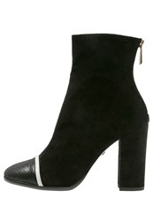 Just Cavalli High Heeled Ankle Boots Black