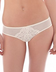 B.Tempt'd Ciao Bella Sheer Lace Panties Vanilla Ice