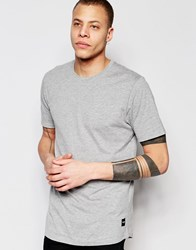 Only And Sons Crew Neck T Shirt Light Gray Marl