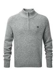 Henri Lloyd Ramsden Half Zip Knit Grey