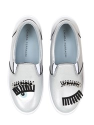 Chiara Ferragni 30Mm Flirting Eyes Slip On Sneakers