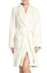 Nordstrom Women's Lingerie 'Snowball' Powder Plush Robe
