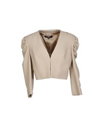 Elisabetta Franchi Suits And Jackets Blazers Women Beige