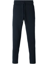 Moncler Tapered Track Pants Blue