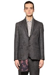 Etro Paisley Wool And Silk Jacquard Jacket