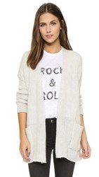 Zadig And Voltaire Pixy Cashmere Cardigan Neige