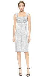 Nina Ricci Sleeveless Dress White Black