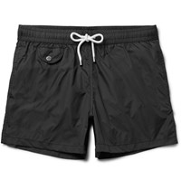 Hartford Short Length Swim Shorts Black
