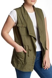 Daniel Rainn Novelty Vest Plus Size Green