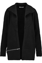 Iro Knitted Wool Cardigan Black