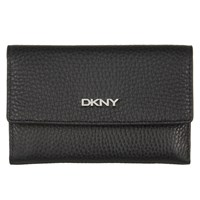 Dkny Tribeca Soft Leather Tri Fold Wallet Black