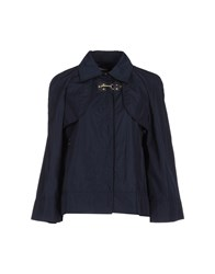 Philosophy Di Alberta Ferretti Coats And Jackets Jackets Women Dark Blue