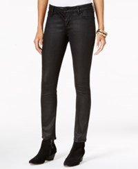 Lucky Brand Lolita Coated Skinny Jeans Black Coated