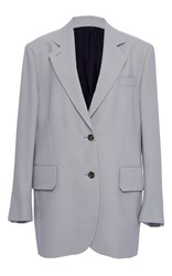 Band Of Outsiders Alaya Single Breasted Blazer Light Grey