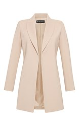 Rossella Jardini Menswear Deconstructed Double Breasted Jacket Nude