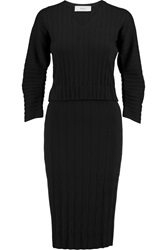 Pringle Textured Wool Blend Dress Black