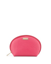 Furla Classic Leather Cosmetic Two Pouch Set Gloss Magnolia