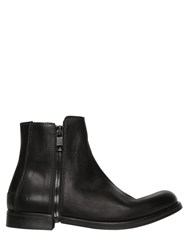 Diesel Zip Around Smooth Leather Ankle Boots