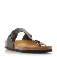 Birkenstock Ramses T Post Mule Sandals Black