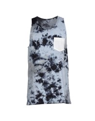 Altamont Topwear Vests Men Sky Blue