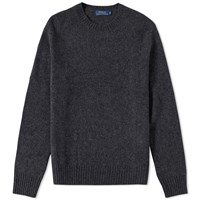 Polo Ralph Lauren Cashmere Mix Crew Knit Grey