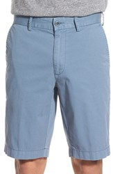 Men's Brax Flat Front Stretch Cotton Shorts Dolphin