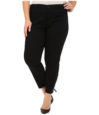 Nydj Plus Size Plus Size Amira Fitted Ankle In Black Black Women's Jeans