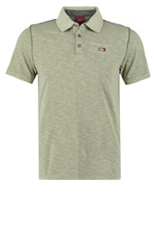 S.Oliver Slim Fit Polo Shirt Fade Olive Khaki