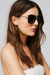Free People Womens Frankie Luxe Sunglass