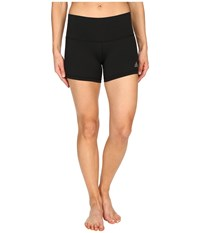 Adidas Performer 4 Short Tights Black Matte Silver Women's Shorts