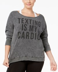 Material Girl Plus Size Sweatshirt Only At Macy's