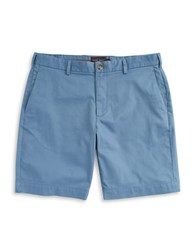 Black Brown Corduroy Shorts Blue