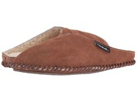 Woolrich Suede Mill Scuff Shearling Suede Women's Slippers Brown