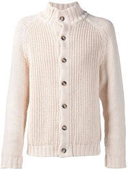 Orley Chunky Knit Cardigan White