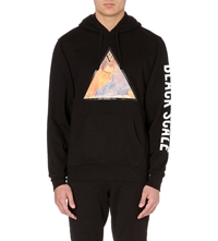 Black Scale The First Supper Pullover Hoody Black