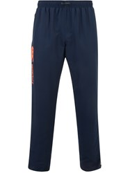 Canterbury Of New Zealand Tapered Open Hem Stadium Training Trousers Blue
