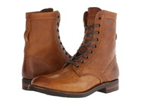 Frye Engineer Tall Lace Camel Oiled Leather Men's Work Lace Up Boots Brown